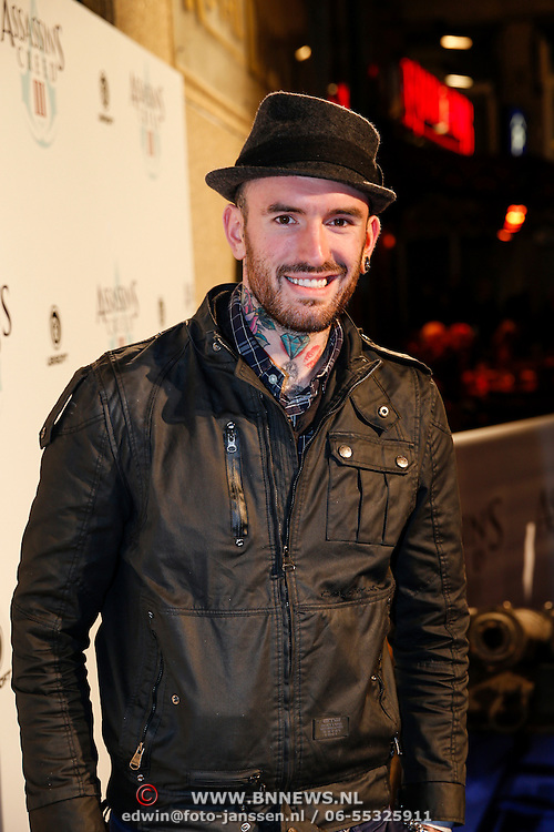 NLD/Amsteram/20121025- Lancering Assassin's Creed game, Ben Saunders