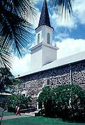 Mokuaikaua Church, Kailua-Kona, Island of Hawaii<br />