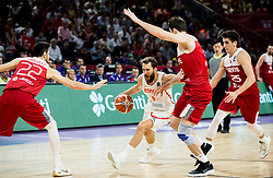 Sergio Rodriguez of Spain during basketball match between National Teams of Spain and Turkey at Day 11 in Round of 16 of the FIBA EuroBasket 2017 at Sinan Erdem Dome in Istanbul, Turkey on September 10, 2017. Photo by Vid Ponikvar / Sportida