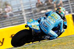 01.05.2010, Motomondiale, Jerez de la Frontera, ESP, MotoGP, Race, im Bild Loris Capirossi - Rizla Suzuki team. EXPA Pictures © 2010, PhotoCredit: EXPA/ InsideFoto / SPORTIDA PHOTO AGENCY