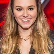 NLD/Hilversum/20180126 - The Voice of Holland 2017 show 1, Demi van Wijngaarden