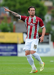 Exeter City's Will Hoskins- Photo mandatory by-line: Harry Trump/JMP - Mobile: 07966 386802 - 18/07/15 - SPORT - FOOTBALL - Pre Season Fixture - Exeter City v Bournemouth - St James Park, Exeter, England.