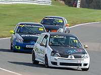#76 Rob PHILLIPS Renault Clio 182  during K-Tec Racing Clio 182 Championship as part of the 750 Motor Club at Oulton Park, Little Budworth, Cheshire, United Kingdom. April 14 2018. World Copyright Peter Taylor/PSP.