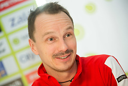 Radoslaw Szymanik during press conference of Polish Men Davis Cup team before tournament against Slovenia, on January 30, 2018 in Hotel Maribor, Maribor, Slovenia. Photo by Vid Ponikvar / Sportida