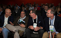 BUSSUM - NVG / NGF/ PGA congres 2018. The drive to happiness.  Bart Homan, Arnoud de Jager, Rob Schroen.   COPYRIGHT KOEN SUYK