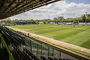 The New Lawn, home of Forest Green Rovers during the EFL Sky Bet League 2 match between Forest Green Rovers and Grimsby Town FC at the New Lawn, Forest Green, United Kingdom on 5 May 2018. Picture by Shane Healey.