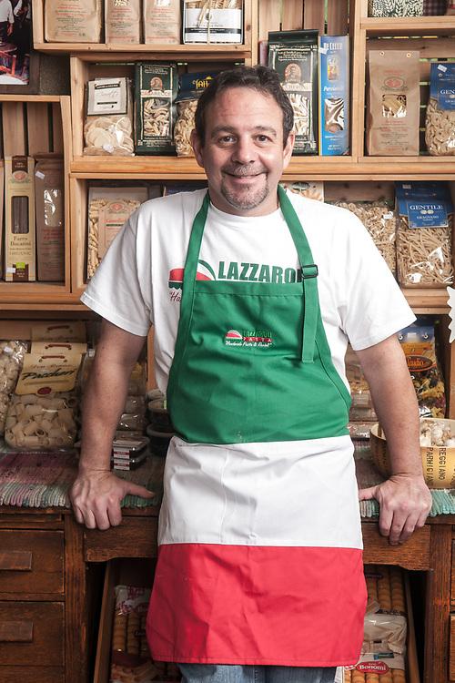 Tom Lazzaro of Lazzarolli Pasta