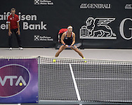 Dominika Cibulkova (SVK) during the semi finals of the WTA Generali Ladies Linz Open at TipsArena, Linz<br /> Picture by EXPA Pictures/Focus Images Ltd 07814482222<br /> 15/10/2016<br /> *** UK &amp; IRELAND ONLY ***<br /> <br /> EXPA-REI-161015-5016.jpg