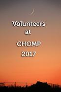 CHOMP Volunteers 2017