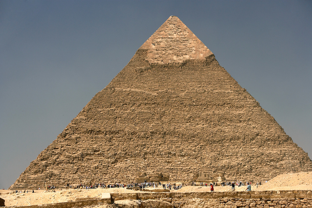 The Great Pyramids at Giza  Giza, Egypt