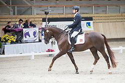 Puch Pepo, (AUT), Fine Feeling S<br /> Grade Ib Team Test<br /> Para-Dressage FEI European Championships Deauville 2015<br /> © Hippo Foto - Jon Stroud<br /> 18/09/15