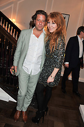 LARS VON BENNIGSEN and CHARLOTTE TILBURY at the Frocks and Rocks party hosted by Alice Temperley and Jade Jagger at Temperley, Bruton Street, London on 25th April 2013.