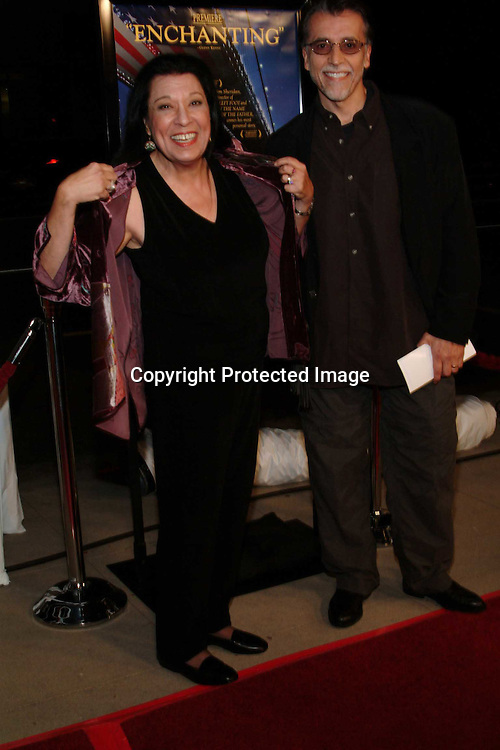 Shelley Morrison &amp; husband Walter Domingus<br />