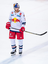 09.04.2019, Eisarena, Salzburg, AUT, EBEL, EC Red Bull Salzburg vs Vienna Capitals, Halbfinale, 6. Spiel, im Bild Matthias Trattnig (EC Red Bull Salzburg) // during the Erste Bank Icehockey 6th semifinal match between EC Red Bull Salzburg vs Vienna Capitals at the Eisarena in Salzburg, Austria on 2019/04/09. EXPA Pictures © 2019, PhotoCredit: EXPA/ JFK