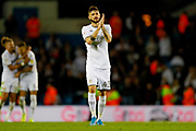 Leeds United midfielder Mateusz Klich (43)  during the EFL Sky Bet Championship match between Leeds United and Brentford at Elland Road, Leeds, England on 21 August 2019.