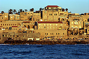 Israel, Old Jaffa port as seen from the sea