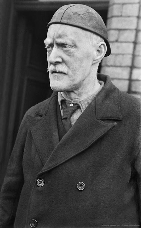 Portrait of Miner, Horden Pit, England, 1935