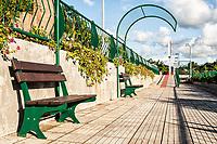 Área de lazer às margens do Rio Hercílio. Ibirama, Santa Catarina, Brasil. / <br /> Leisure area by Hercílio River. Ibirama, Santa Catarina, Brazil.