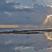 Dawn breaks over Puerto Viejo de Talamanca, Costa Rica.
