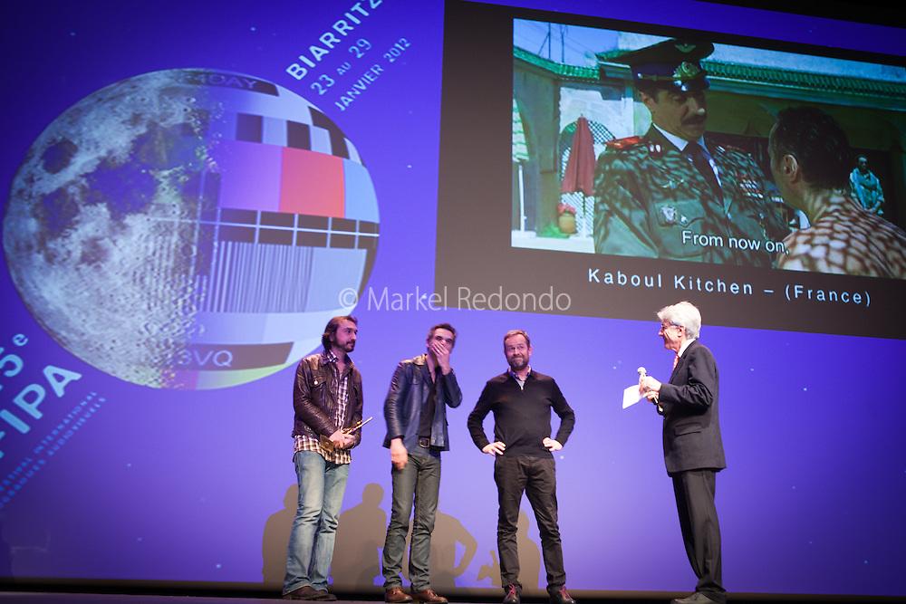 Allan Mauduit, Jean-Patrick Benes et Frederic Berthe, réalisateurs de Kabooul Kitchen