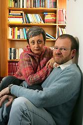 """Mario e Diana são psicanalistas e autores do """"Fadas no Divã"""", que tem umas 600 páginas e toda vocação para virar um clássico. FOTO: Jefferson Bernardes / Preview.com"""
