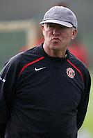 Photo: Paul Thomas.<br /> Manchester United training session. UEFA Champions League. 16/10/2006.<br /> <br /> Sir Alex Ferguson.