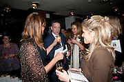 KEVIN MAXWELL, Book party for Janine di Giovanni's Ghosts by Daylight. Blake's Hotel. South Kensington. London. 12 July 2011. <br /> <br />  , -DO NOT ARCHIVE-© Copyright Photograph by Dafydd Jones. 248 Clapham Rd. London SW9 0PZ. Tel 0207 820 0771. www.dafjones.com.
