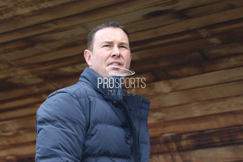 Plymouth Argyle manager Derek Adams prior the Sky Bet League 2 match between Plymouth Argyle and AFC Wimbledon at Home Park, Plymouth, England on 9 April 2016. Photo by Stuart Butcher.