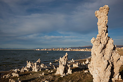 """Tufas at Mono Lake 12"" - These tufas were photographed at the South Tufa area in Mono Lake, California."