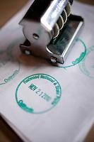 Image of Redwood National Park stamp. CA