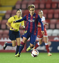FC Barcelona's Cristina Baudet - Photo mandatory by-line: Paul Knight/JMP - Mobile: 07966 386802 - 13/11/2014 - SPORT - Football - Bristol - Ashton Gate Stadium - Bristol Academy v FC Barcelona - UEFA Women's Champions League