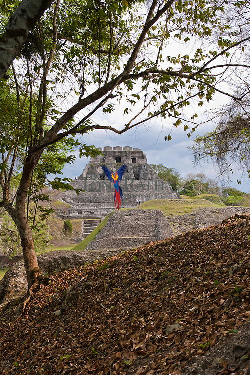The Maya site of Xunantunich in Cayo District, Belize