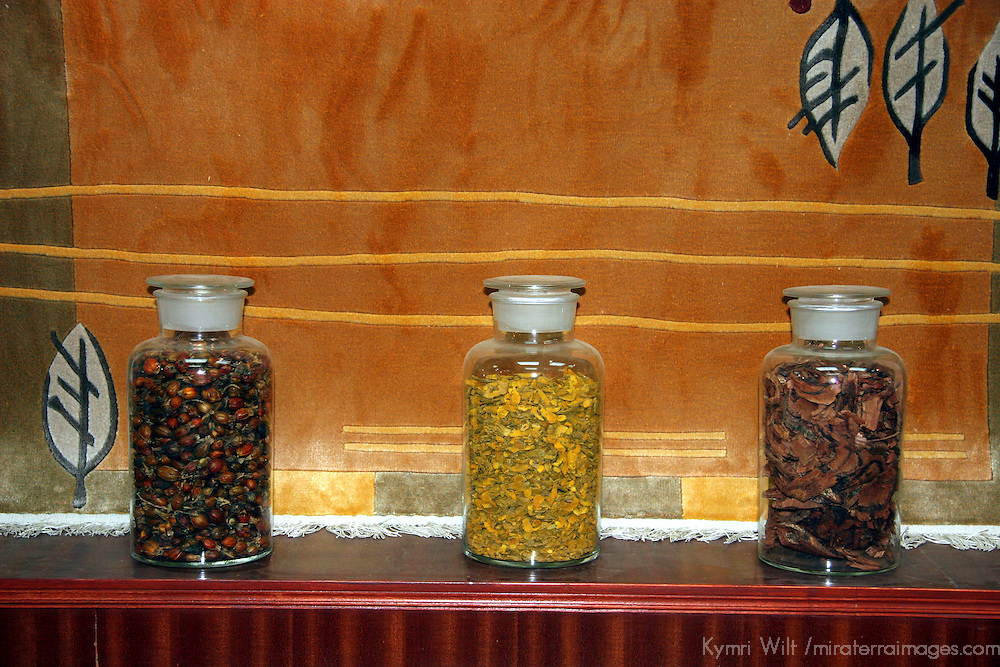 Asia, China, Beijing. Silk Capet Dyes