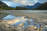 Athabasca River, Jasper National Park Alberta