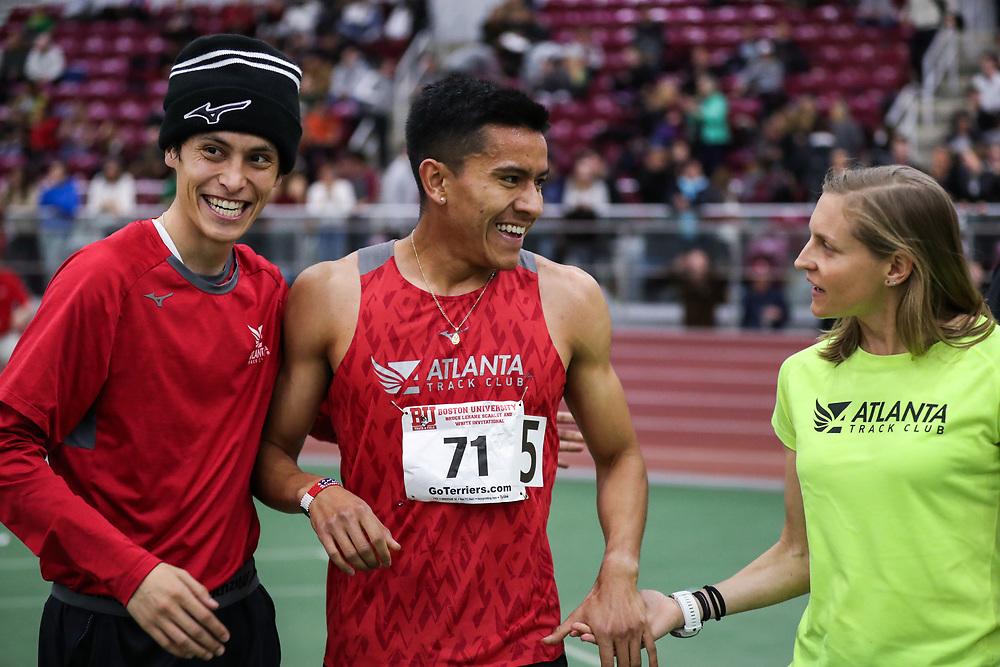 Bruce LeHane Scarlet and White<br /> Indoor Track & Field<br /> Atlanta TC, Alvarado