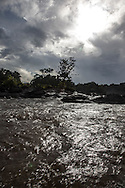 French Guyana. Amazonas forest and river. Approuague‎ river in amazonia,      / le fleuve Approuague‎ en amazonie  guyane.