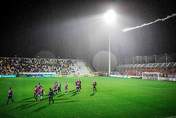 Players of Hajduk after the football match between HNK Rijeka and HNK Hajduk Split in Round #15 of 1st HNL League 2016/17, on November 5, 2016 in Rujevica stadium, Rijeka, Croatia. Photo by Vid Ponikvar / Sportida