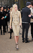 21.FEBRUARY.2011. LONDON<br /> <br /> KATE BOSWORTH ARRIVING AT BURBERRY PRORSUM SHOW FOR LONDON FASHION WEEK IN KENSINGTON GARDENS, LONDON<br /> <br /> BYLINE: EDBIMAGEARCHIVE.COM<br /> <br /> *THIS IMAGE IS STRICTLY FOR UK NEWSPAPERS AND MAGAZINES ONLY*<br /> *FOR WORLD WIDE SALES AND WEB USE PLEASE CONTACT EDBIMAGEARCHIVE - 0208 954 5968*