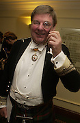 The earl of Erroll, The Royal Caledonian Ball 2004. Grosvenor House, 21 May 2004. ONE TIME USE ONLY - DO NOT ARCHIVE  © Copyright Photograph by Dafydd Jones 66 Stockwell Park Rd. London SW9 0DA Tel 020 7733 0108 www.dafjones.com
