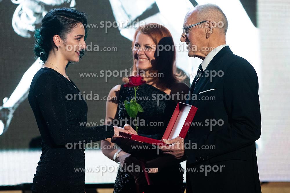 Mia Krampl at 55th Annual Awards of Stanko Bloudek for sports achievements in Slovenia in year 2018 on February 4, 2020 in Brdo Congress Center, Kranj , Slovenia. Photo by Grega Valancic / Sportida