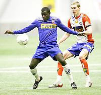 FotballI , 01. Februar 2008 , Treningskamp , Lyn - Sandefjord , Malick Mane Sandefjord , Foto: Thomas Andersen , Digitalsport