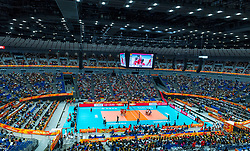 04-10-2018 JPN: World Championship Volleyball Women day 6, Yokohama<br /> Germany - Japan 0-3 / The Yokohama Arena was pretty full for the last game in the group.