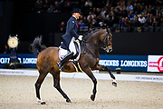 Henry Ludovic - After You<br /> FEI Longines FEI World Cup Paris 2018<br /> © DigiShots