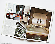 Publication in 05/2011 issue of Villa interior magazine. Photography by Piotr Gesicki
