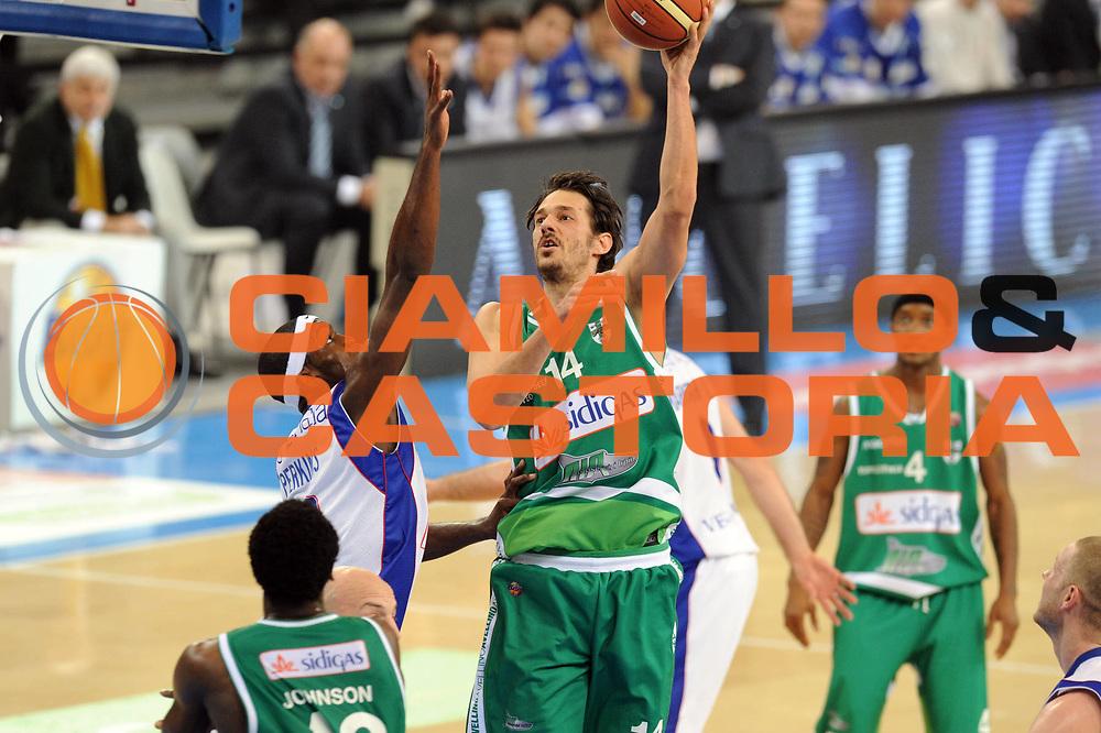 DESCRIZIONE : Torino Coppa Italia Final Eight 2012 Quarto di Finale Bennet Cantu Sidigas Avellino<br /> GIOCATORE : Jurica Golemac<br /> SQUADRA : Sidigas Avellino <br /> EVENTO : Suisse Gas Basket Coppa Italia Final Eight 2012<br /> GARA : Bennet Cantu Sidigas Avellino<br /> DATA : 17/02/2012<br /> CATEGORIA : tiro<br /> SPORT : Pallacanestro<br /> AUTORE : Agenzia Ciamillo-Castoria/GiulioCiamillo<br /> Galleria : Final Eight Coppa Italia 2012<br /> Fotonotizia : Torino Coppa Italia Final Eight 2012 Quarto di Finale Bennet Cantu Sidigas Avellino<br /> Predefinita :