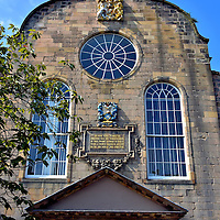 Canongate Church in Edinburgh, Scotland<br />