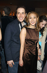 BRUCE WILPON and his wife  YUKI OSHIMA-WILPON , he is the son of Fred Wilpon, the New York multimillionaire real-estate developer who the New York Mets baseball team at a party hosted by Daniella Helayel of fashion label ISSA held at Taman Gang, 141 Park Lane, London on 15th February 2006.<br />