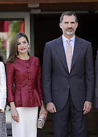 Queen Letizia of Spain and King Felipe VI of Spain attend the 40th anniversary of Reina Sofia Alzheimer Foundation. May 21 ,2017. (ALTERPHOTOS/Pool)