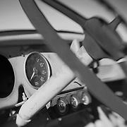 Truck Console - Pearsonville, CA - Lensbaby - Black & White
