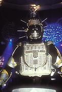 A robot dancer, Ibiza 1999